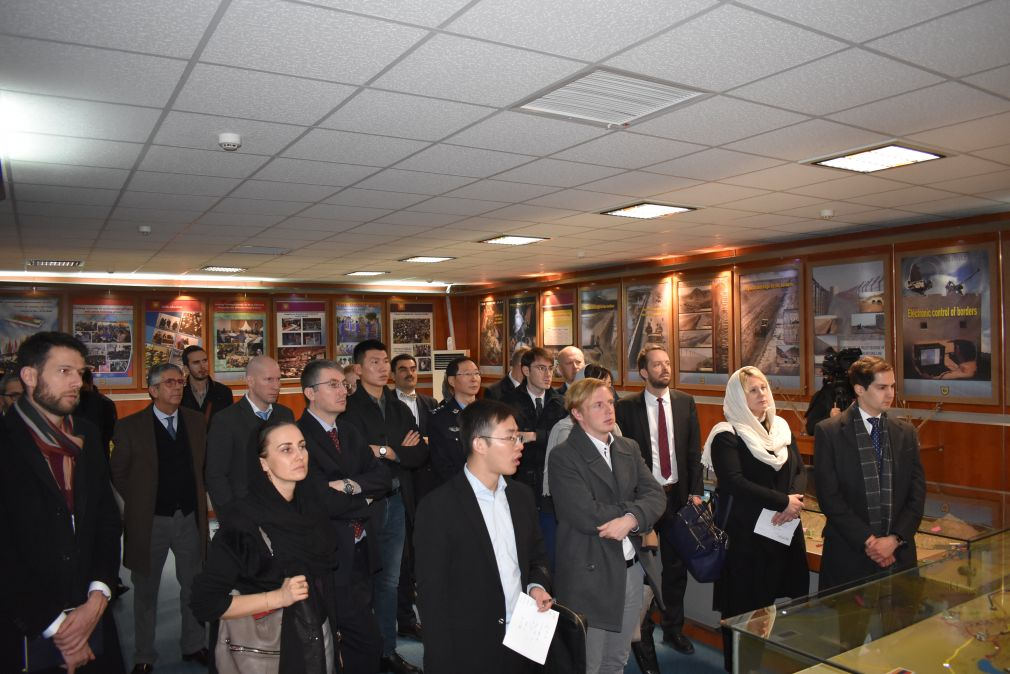 Mini Dublin Group (MDG) visit to Anti-Narcotics Police (ANP) Exhibition