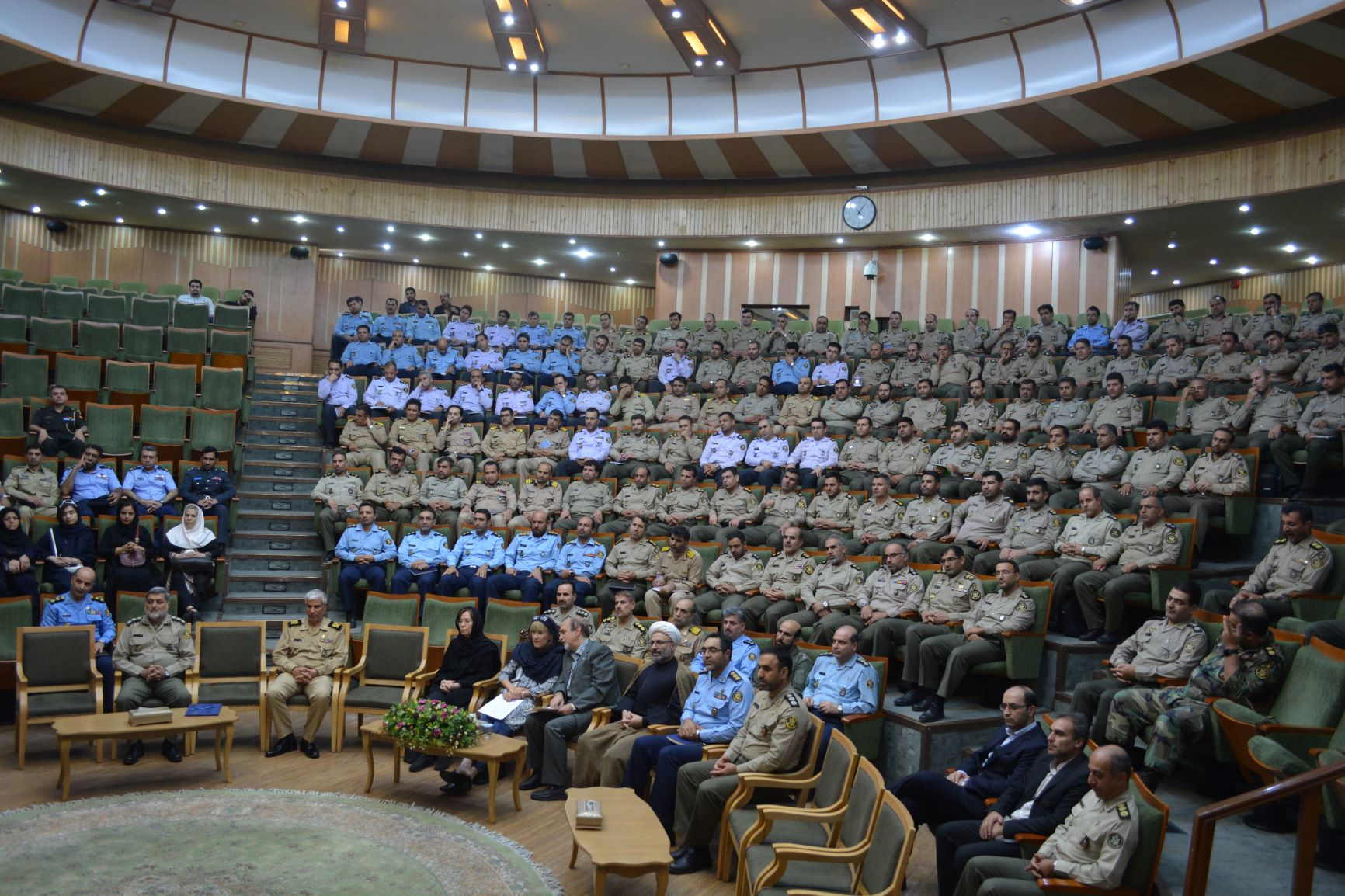 The Islamic Republic of Iran Army Command and Staff University marks International Day of Peace with UNIC