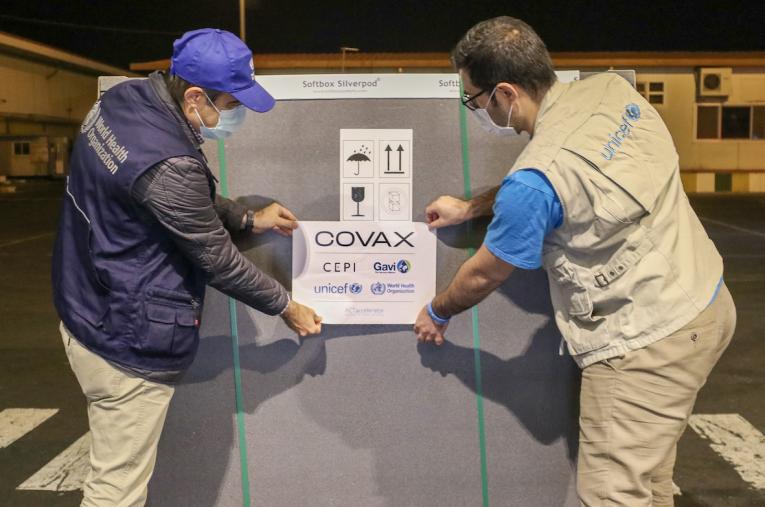 ایران دومین محموله واکسن کووید-۱۹ خریداریشده از طریق سازوکار کوواکس را دریافت کرد