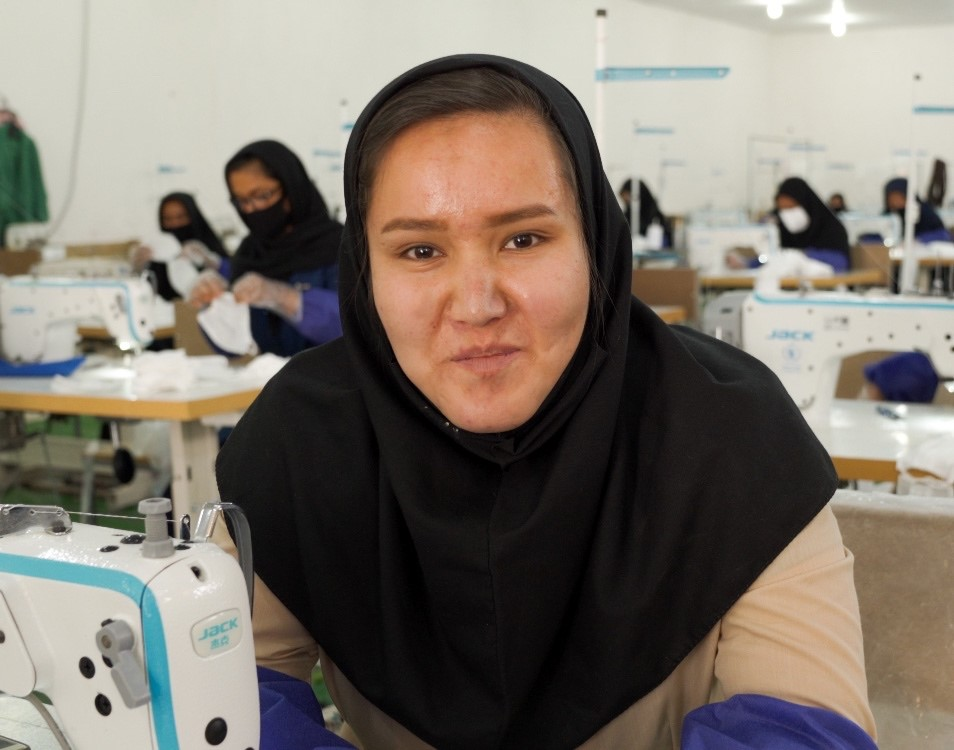 Refugee tailors ramp up mask production, as COVID-19 lingers in Iran