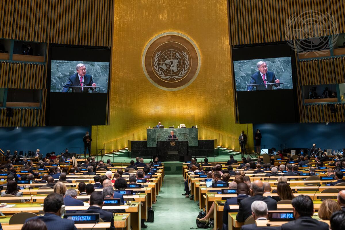 Secretary-General's Address to the General Assembly