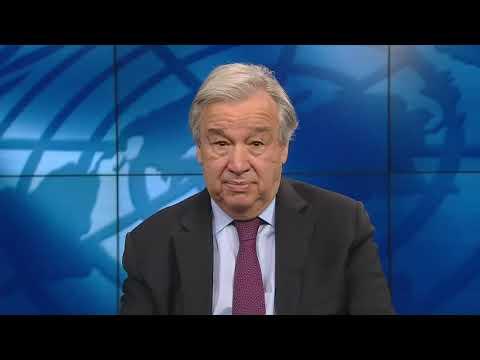 پیام ویدیویی آنتونیو گوترش دبیر کل سازمان ملل متحد به مناسبت روز بین المللی آموزش