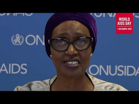 پیام ویدیوئی وینی بیانیما، مدیر اجرائی برنامه مشترك ملل متحد در زمينه ايدز، به مناسب روز جهانی ایدز ۲۰۲۰