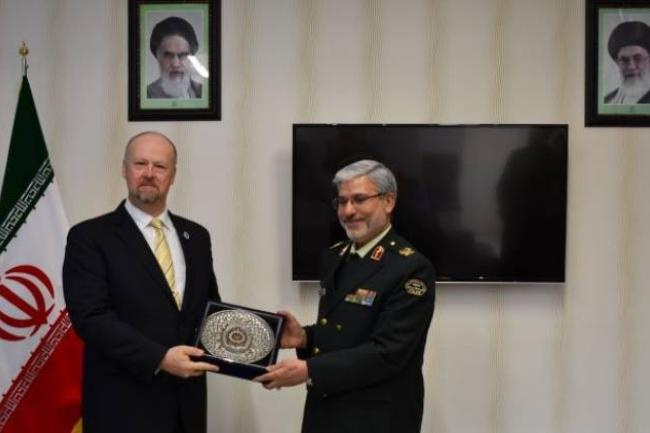 UNODC and Amin Police University to cooperate on sharing modernized academic knowledge