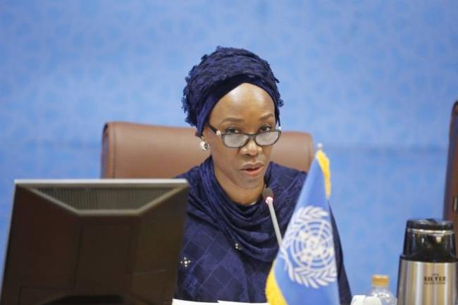 Ms. Ugochi Daniels, UN Resident Coordinator in the Islamic Republic of Iran